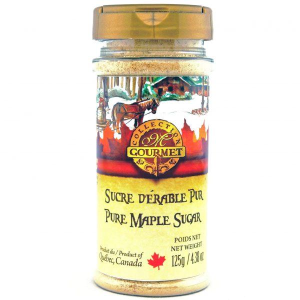 Azúcar puro de maple FINA 125g – plástico PET
