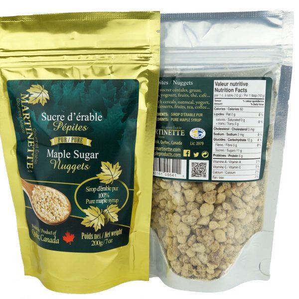 Azúcar de maple granulado GRUESO – 200g