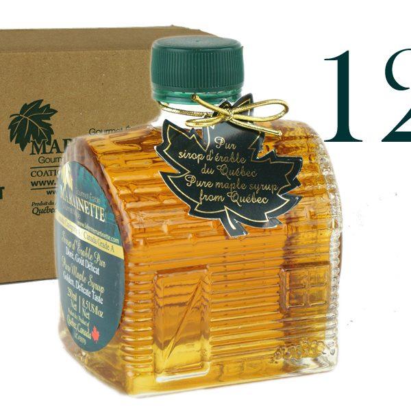 Cabaña de azúcar 12×250 ml botella CANADA A- Oro, sabor delicado
