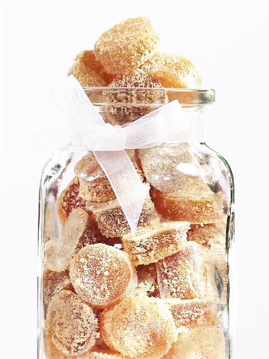Gomitas de jarabe puro de maple