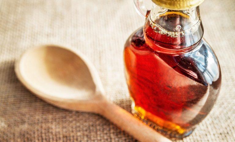 El sabor del jarabe puro de maple