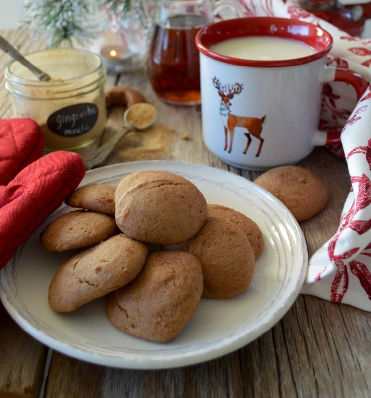 Galletas con melaza y azúcar de maple