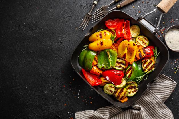 Verduras caramelizadas al maple