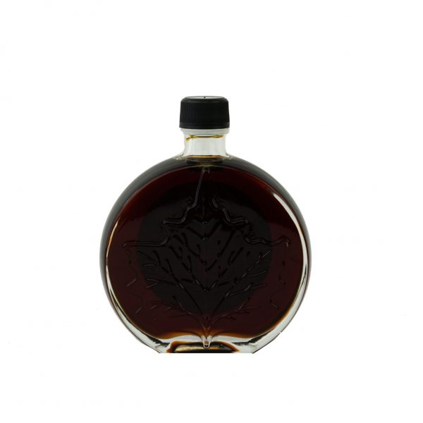 O CANADA – Jarabe puro de maple 250ml MUY OSCURO, Pronunciación Sabor- Hoja medallón