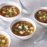 Sopa de miso con maple